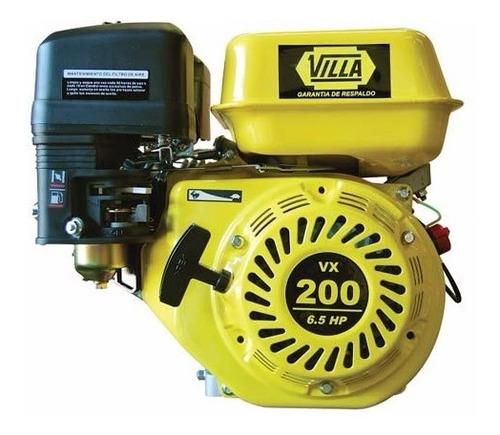 motor villa vx 200 explosion eje horizontal 6.5hp 196 cc