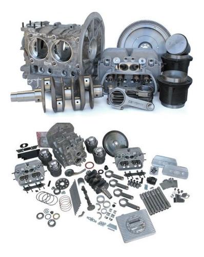 motor vocho 220hp stroker vw2387cc + webers idf44 (13.8secs)