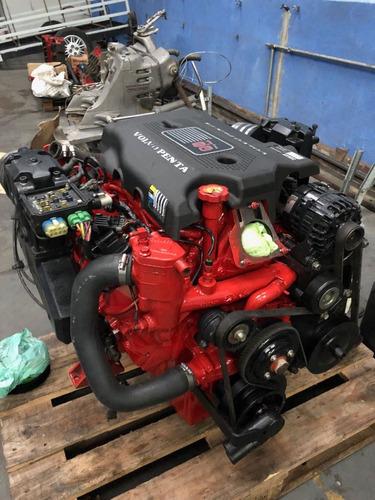 motor volvo penta 8.1 com 5h de uso