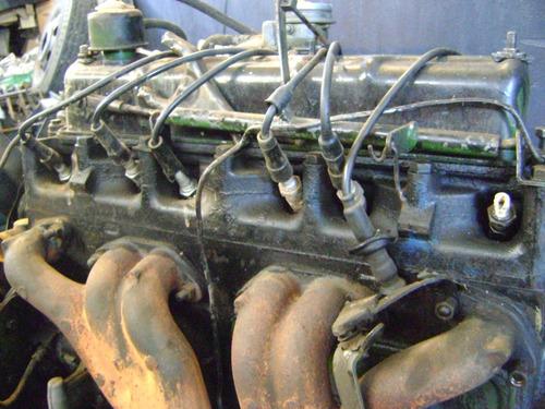 motor willis 6 cilindro completo