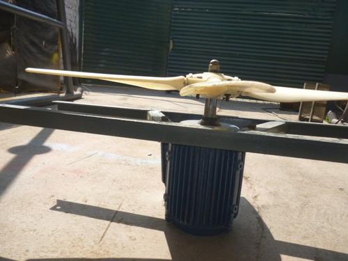 motor y helice para ventilador  original