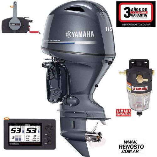 motor yamaha 115hp 4t efi 16v nueva generación - renosto