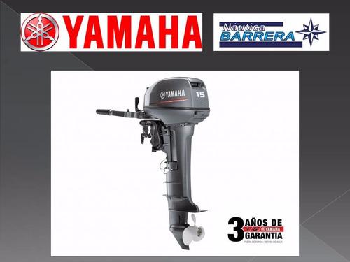 motor yamaha 15 hp 2t 12 cuotas de $ 4495 entrega inmediata