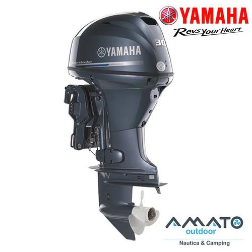 motor yamaha 30 hp 4t efi arr. electrico comando powertrim