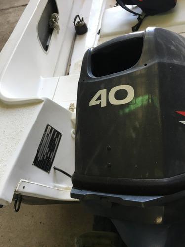motor yamaha 40 hp 2t 40 hs de uso