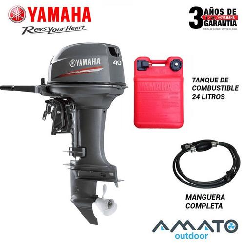 motor yamaha 40 hp 2t pata corta arranque manual 40xmhs
