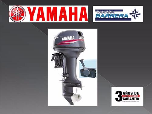 motor yamaha 40 hp con arranque el y trim oferta especial!!