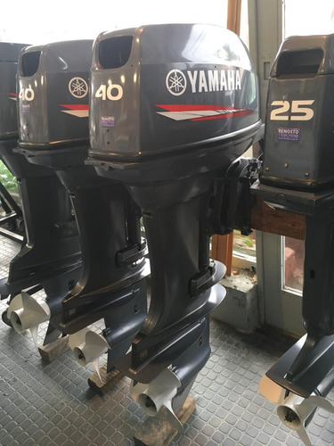motor yamaha 40hp 2t arranque electrico 2015 impecable!!