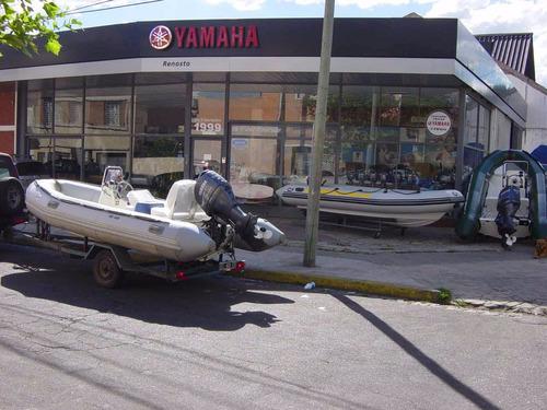 motor yamaha 4hp 4 tiempos pata corta 2010 impecable!
