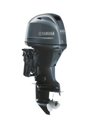 motor yamaha 60 hp 4 tempos f60 fetl - pronta entrega