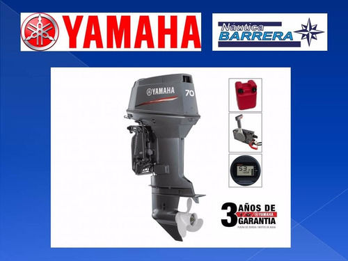 motor yamaha 70 hp 2t full en stock dólar tarjeta