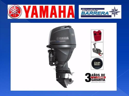 motor yamaha 90 hp 4t efi. entrega ya. ver oferta de contado
