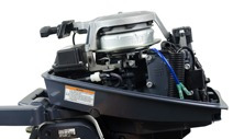 motor yamaha cnpj ou prod rural (exceto mg)8 hp dmhs - 2t
