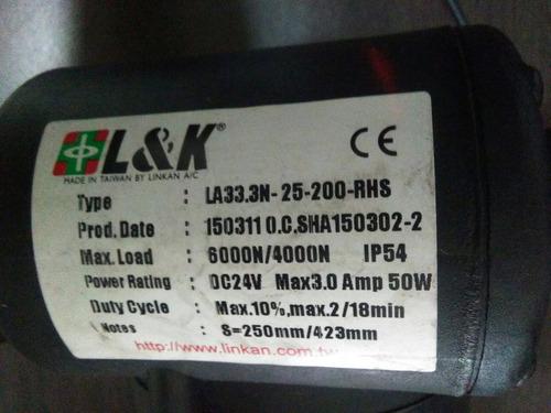 motoreductor lineal 24 v 3.0 ah 50w liquidacion