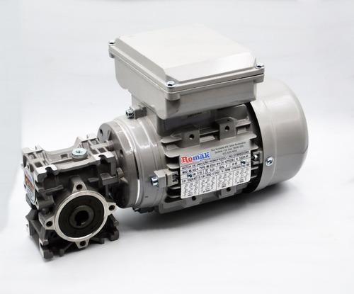 motoredutor q30 c/ motor monofásico 1/4 cv - redução 1/25