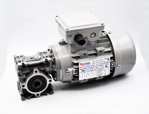motoredutor q30 c/ motor trifásico 1/4 cv - redução 1/30