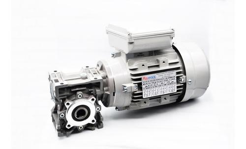 motoredutor q40 1/20 c/ motor 1/2 cv monofásico romak