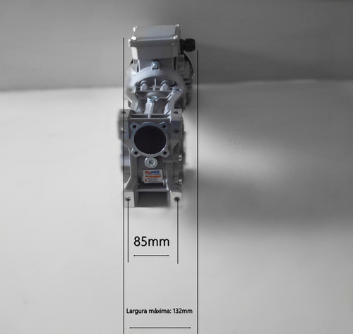 motoredutor q63 1/100 c/motor 1/2 cv trifásico romak