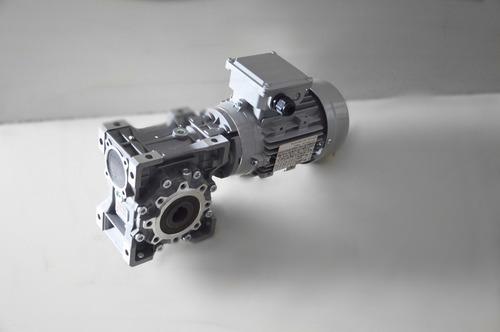 motoredutor q63 c/ motor trifásico 3/4 cv - redução 1/60