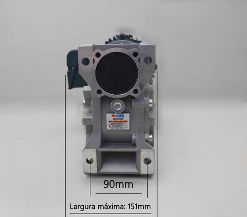 motoredutor q75 1/50  80b14 c/ motor 1,5 cv trifásico romak
