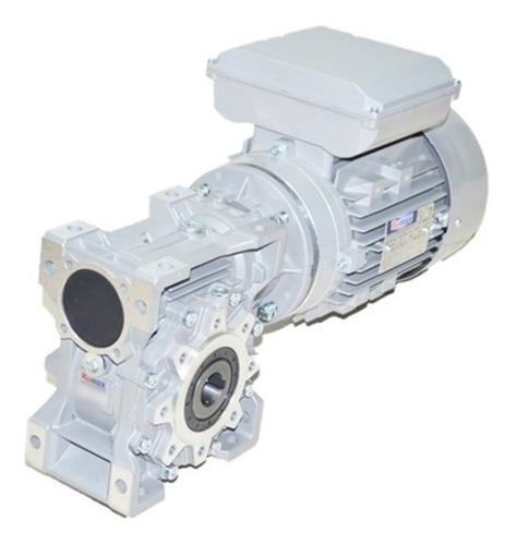 motoredutor q75 c/ motor monofásico 1 1/2 cv - redução 1/50