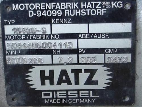 motorenfabrik hatz d