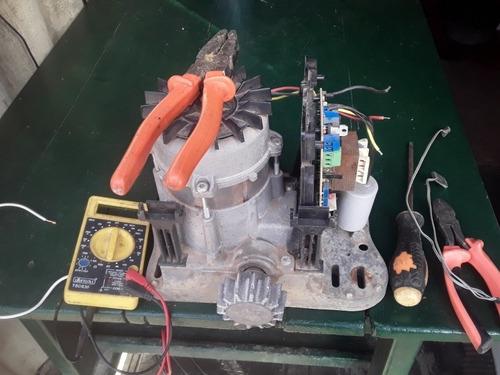 motores a control remoto para portones