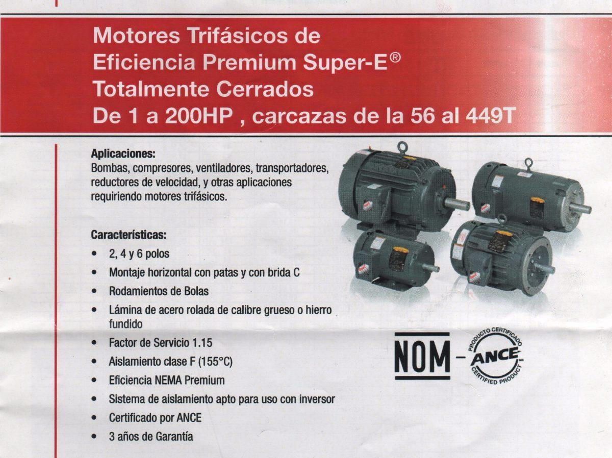 Motores Baldor Trif Sicos Eficiencia Premium U S