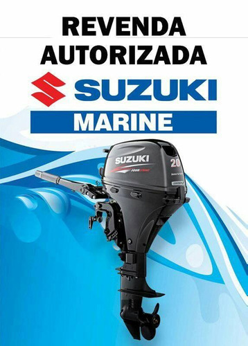 motores de popa suzuki 20hp 4 tempos  injeçao  12 vezes !