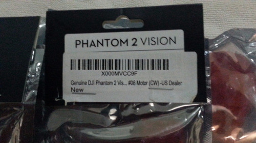 motores dji phantom vision 2, modelo 2212/920kv