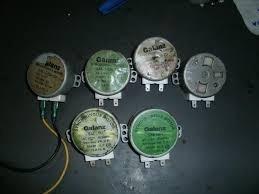 motores para platos giratorios de microondas