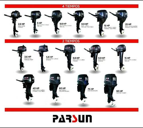 motores parsun 2 y 4 tiempos distribuidor oficial envios