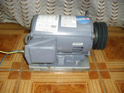 motores trifasicos 10 hp doble polea marca americano usa