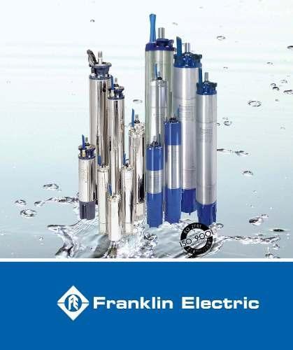 motores y bombas marca franklin electric entre otras