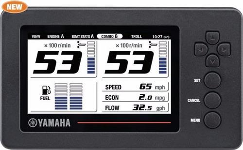 motores yamaha 130hp 4 tiempos efi con pantalla - renosto
