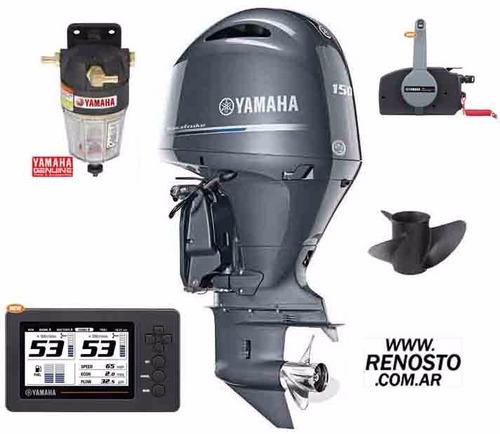 motores yamaha 150hp 4 tiempos pata extra larga renosto
