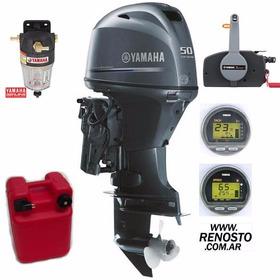 Motores Yamaha 50hp 4t Efi Full Consulte Contado!! Renosto