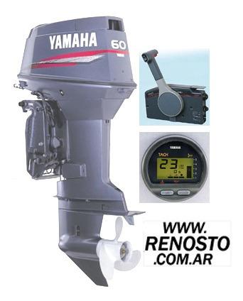 motores yamaha 60hp 2t full consulte contado - renosto