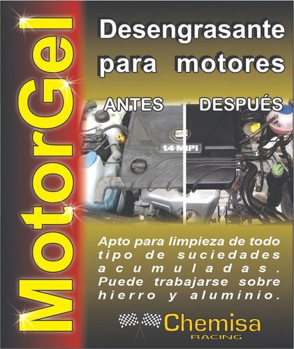 motorgel desengrasante para motores de uso profesional