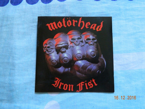 motorhead- iron fist ( importado )