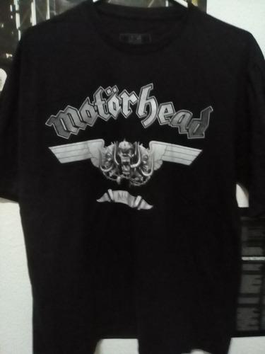 motorhead, lemmy kilmister camiseta oficial merchandising