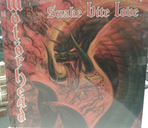motorhead (metallica,ac/dc) vinilo snake bite love