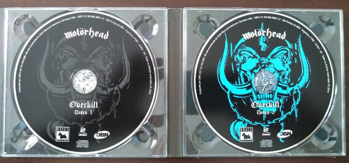 Motorhead Overkill Deluxe Edition