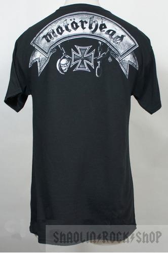 motorhead playera xxv oficial srsx rock metal