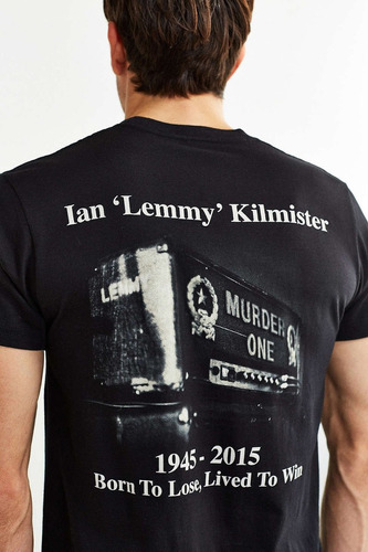 motorhead shirt lemmy lived to win oficial srsx rock metal