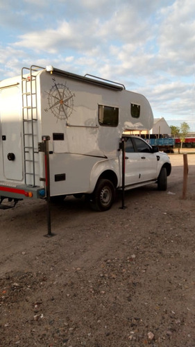 motorhome campervan para camionete de porte medio 4 pessoas