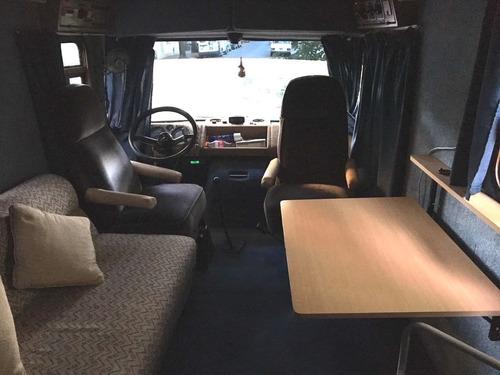 motorhome casa rodante mercedes benz 608 d 1973 80000km