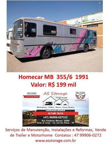 motorhome homecar mercedes benz 1991 trailer- y@w3
