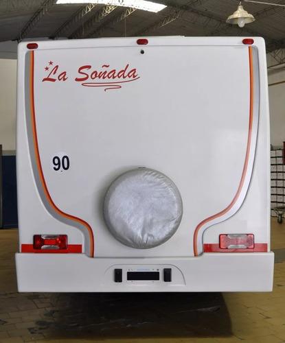motorhome iveco daily 55c16  paso 3750 año 2012