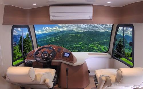 motorhome m. benz 912 - liderbus - montagem 2015 - motor2000